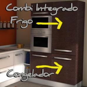 Frigos Combi para Reformas Integrales de cocinas