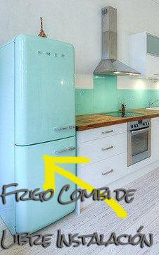 Frigos Combi de Libre Intalación para Reformas Integrales de Cocinas en Barcelona