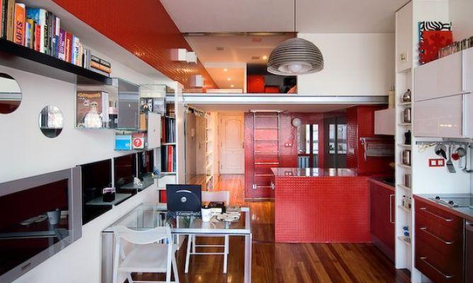 Ideas frescas para las reformas pisos peque os en barcelona tu interiorismo - Ideas pisos pequenos ...